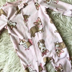 Toddler Girl Corgi PJs